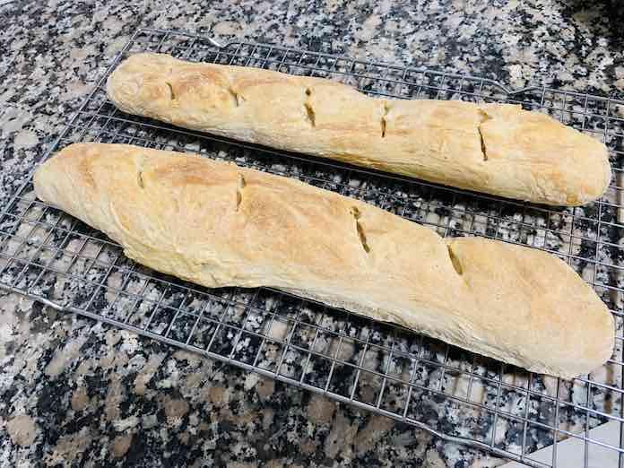 Receta de Pan de Baguette