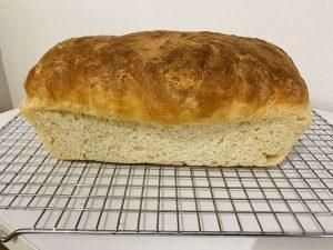 pan de molde con corteza con Thermomix