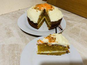 receta de Carrot Cake