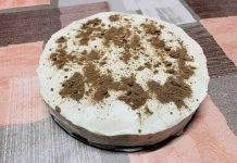Cheese cake de yogur con Thermomix