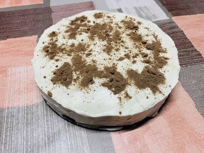 Cheese cake de yogur con Thermomix