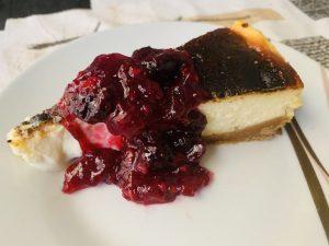 Receta de tarta de queso al horno con Thermomix