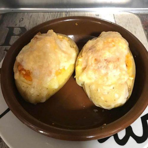 patatas a la mallorquina de forma tradicional