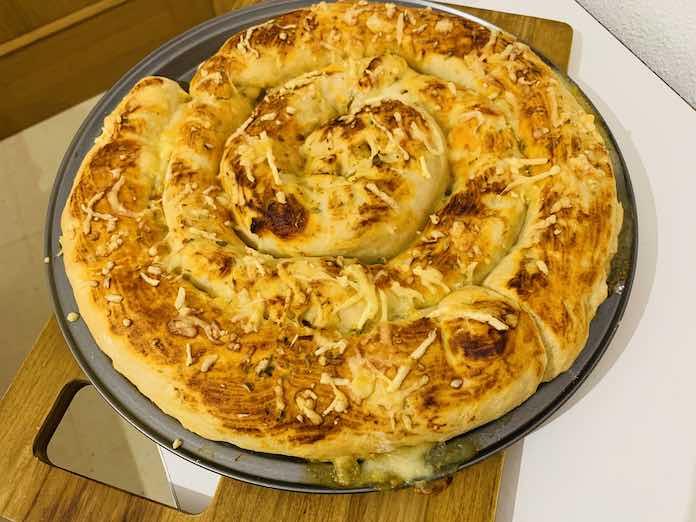 Pizza en espiral con Thermomix en Las Recetas de Angy