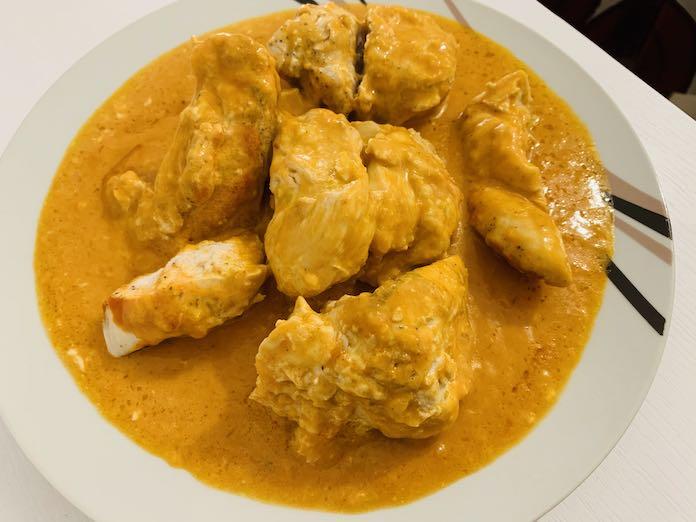 Receta de pollo tikka masala con Thermomix