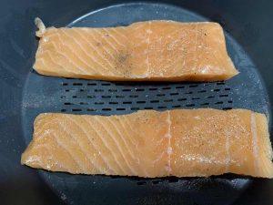 Receta de pasta con salmón