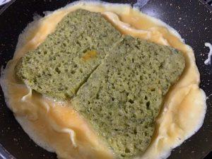 Receta de sandwich de tortilla francesa relleno de forma tradicional