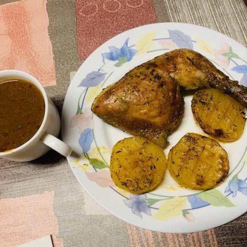 Pollo en salsa picante con Thermomix en Las Recetas de Angy