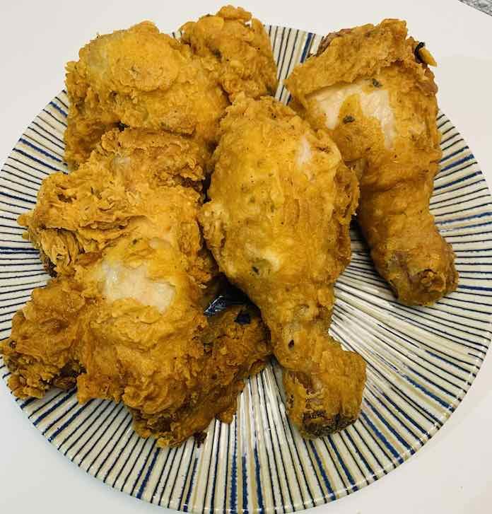 Pollo KFC de forma tradicional en Las Recetas de Angy