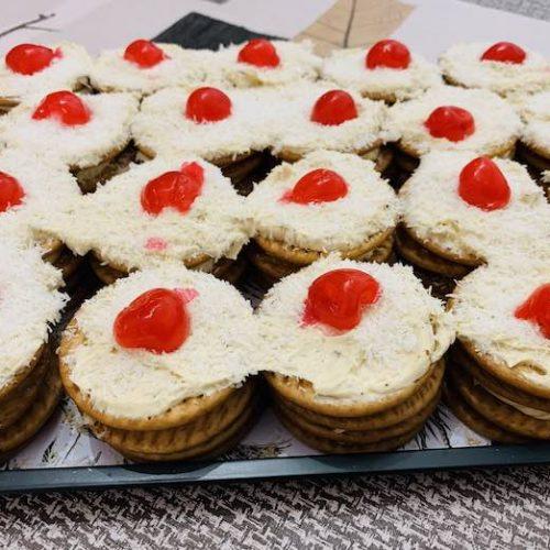 Galletas de moka de forma tradicional en Las Recetas de Angy
