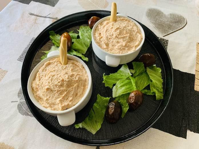 Paté de surimi con Thermomix en Las Recetas de Angy
