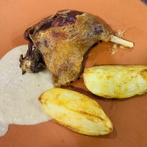 pato en salsa de manzana con Thermomix en Las Recetas de Angy