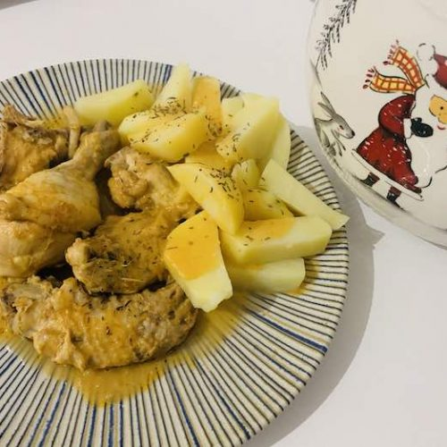 Pollo a la importancia con Thermomix en Las Recetas de Angy