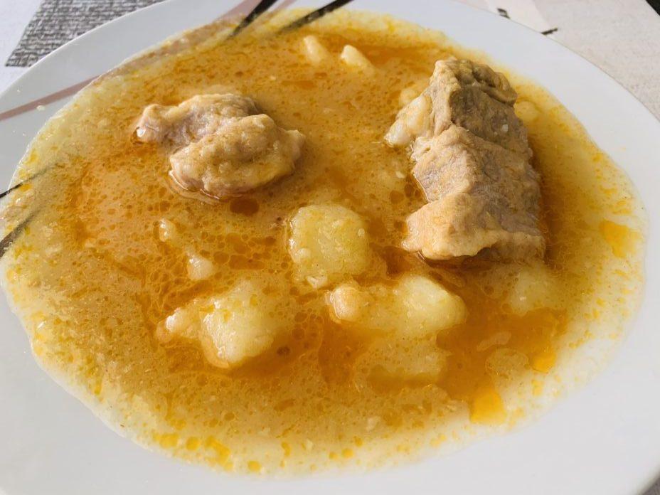 Guiso de costillas y patatas con Thermomix en Las Recetas de Angy