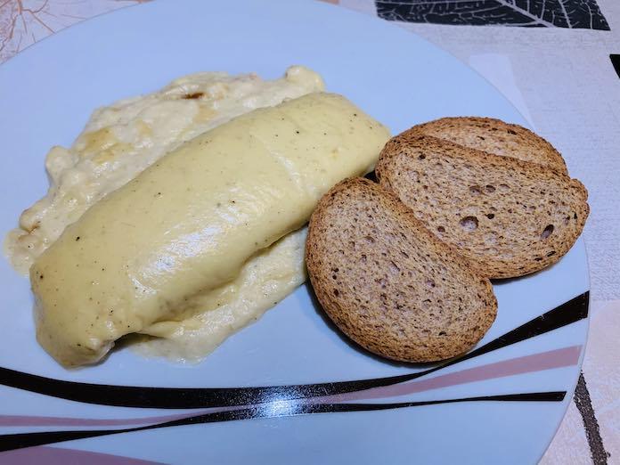 Salmón en salsa de manzana con Thermomix en Las Recetas de Angy