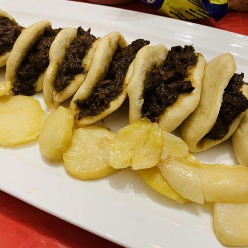 Pan bao relleno de carrillada con Thermomix en Las Recetas de Angy
