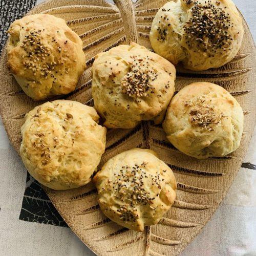 Pan de queso crema con Thermomix en Las Recetas de Angy