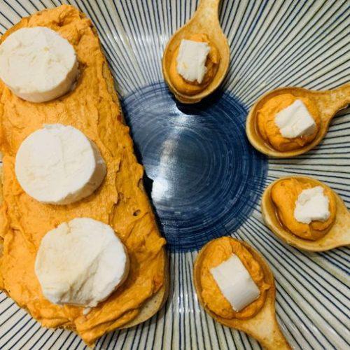 Paté de sobrasada y queso crema de forma tradicional en Las Recetas de Angy