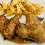 alitas de pollo en salsa de soja y miel con Thermomix en Las Recetas de Angy