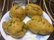 receta pan de ajo y perejil